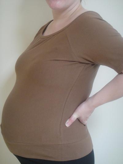 Raglan Sleeve Maternity Top