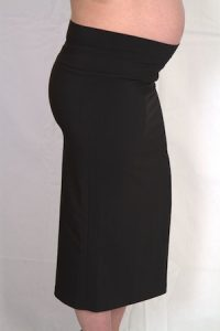 Fold Over Maternity Skirt