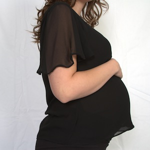 Baby Doll Maternity Top