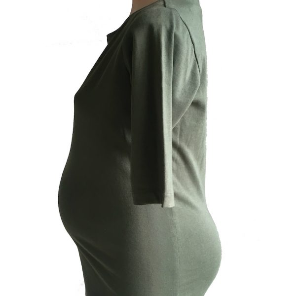Boatneck Maternity T-shirt