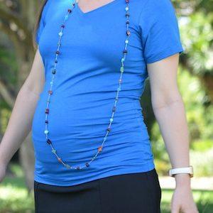Ljb Maternity V-Neck Tee
