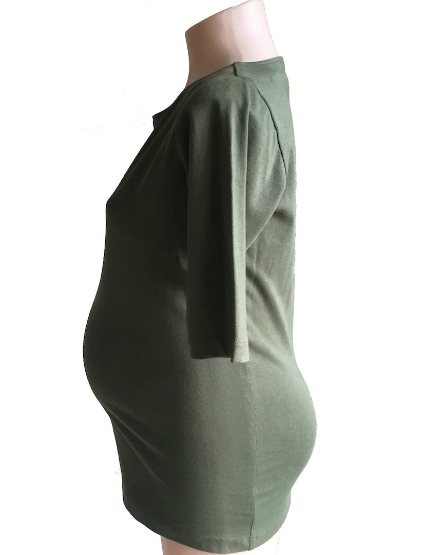 Boatneck Maternity T-shirt