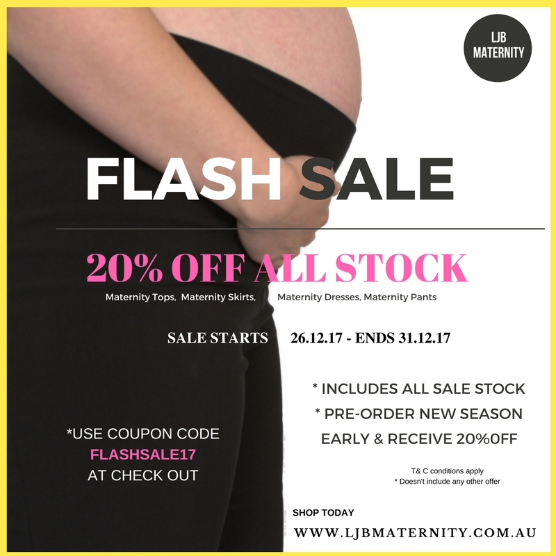 Boxing Day Maternity Wear Sale